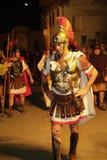 XIX edition Antignano Via Crucis (AT) -Act single 2007 Stock Photo