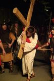 XIX edition Antignano Via Crucis (AT) -Act single 2007 Royalty Free Stock Photo