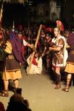 XIX edition Antignano Via Crucis (AT) -Act single 2007 Royalty Free Stock Photos