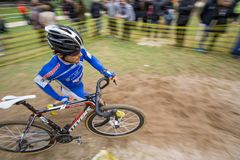 XIX Edition of Valencia City cyclo-cross kicks off Stock Images