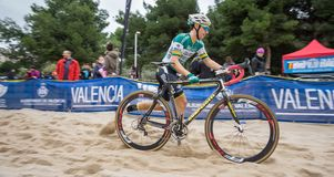 XIX Edition of Valencia City cyclo-cross kicks off Stock Photo