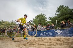 XIX Edition of Valencia City cyclo-cross kicks off Stock Images