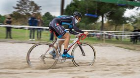 XIX Edition of Valencia City cyclo-cross kicks off Royalty Free Stock Image