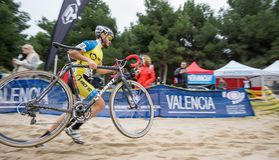 XIX Edition of Valencia City cyclo-cross kicks off Royalty Free Stock Photography