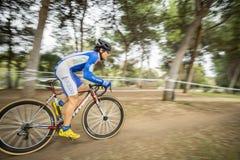 XIX Uitgave van Valencia City-cyclo-kruisschoppen weg Stock Fotografie