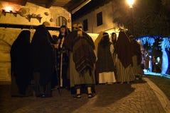 XIX upplaga Antignano via Crucis (PÅ) - agera singeln 2007 Royaltyfri Fotografi