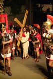 XIX upplaga Antignano via Crucis (PÅ) - agera singeln 2007 Royaltyfria Bilder