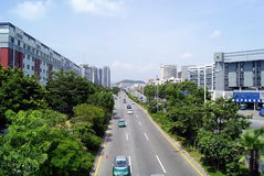 Xixiang Allee stockfoto