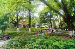 Xixiang Park Royalty Free Stock Images