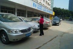 Xixiang Shenzhen sanitary and anti epidemic station Stock Photos