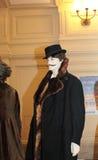 XIXth century fashion mannequin Royalty Free Stock Image