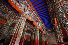 Xizangï ¼ Œtemple; kloster Royaltyfria Bilder