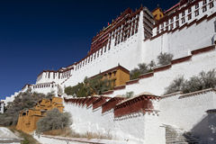 Xizang Lhasa Potala Palace Royalty Free Stock Images