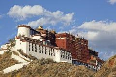 xizang potala дворца lhasa стоковая фотография rf