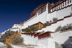 xizang potala дворца lhasa стоковые изображения rf