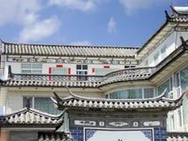XiZhou budynków dach Fotografia Royalty Free