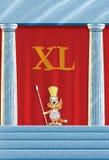 XL είναι ίσος με 40 Στοκ Εικόνες