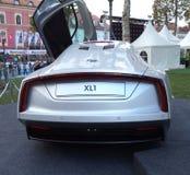 XL1 conceptenauto Volkswagen Stock Foto's