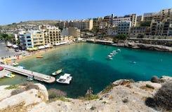 Xlendi, Gozo (马耳他) 免版税库存图片