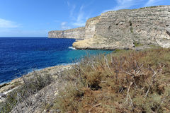 Xlendi Bay Royalty Free Stock Image