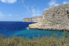 Xlendi Bay Royalty Free Stock Images