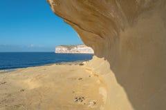 Xlendi in Gozo, Malta Stock Images