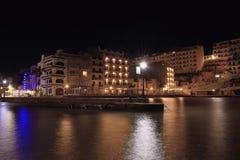 Xlendi zatoka Gozo obrazy royalty free
