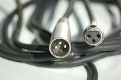XLR Plugs stock photos