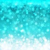 Xmas假日设计的被弄脏的圣诞灯 免版税库存图片