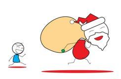 Xmas圣诞老人 免版税库存照片
