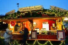 Xmas市场摊位Baden-WÃ ¼ rttenberg 库存照片