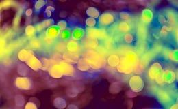 Xmas闪烁背景 圣诞快乐和新年好 库存照片