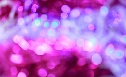 Xmas闪烁背景 圣诞快乐和新年好 图库摄影