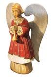 xmas ангела милый декоративный деревянный Стоковые Фото