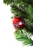 xmas вала орнамента рождества ветви вися Стоковые Фотографии RF