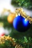 xmas вала орнамента рождества ветви вися Стоковое Изображение RF