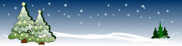 xmas валов звезд знамени накаляя Стоковое Фото