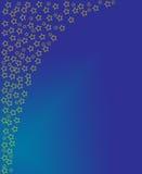 xmas голубых звезд бесплатная иллюстрация