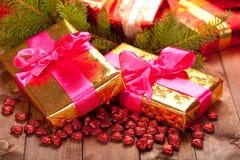 xmas подарков стоковая фотография