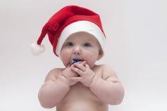 xmas темы младенца Стоковое Изображение RF