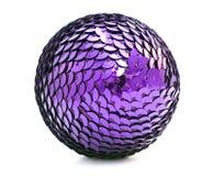 xmas шарика лиловый Стоковая Фотография