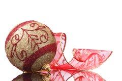 xmas шарика Стоковая Фотография RF