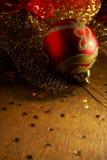 xmas шарика Стоковое Изображение RF