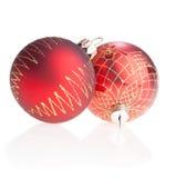xmas шариков красный Стоковая Фотография
