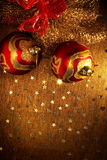 xmas шариков Стоковое фото RF