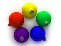 xmas шариков Стоковые Фотографии RF