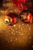 xmas шариков Стоковая Фотография