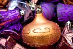 xmas шариков Стоковое Фото