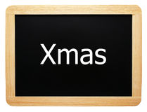 Xmas. Christmas Time Concept Sign royalty free stock photo
