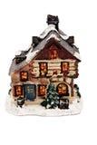 Xmas. House for christmas on white background Stock Image